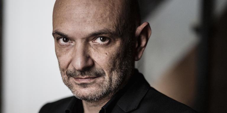 Richard Malka, avocat et écrivain. Dans ses bureaux de la rue de la Boétie  à Paris, le mardi 2 fevrier 2020.