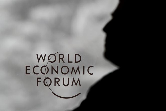 Au siège du Forum économique mondial, à Davos (Suisse), le 24 janvier 2012.