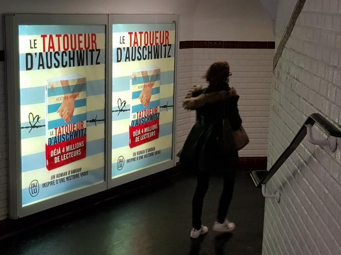 Dans le métro parisien, fin janvier.