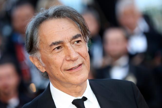 Le comédien Richard Berry à Cannes, en 2017.