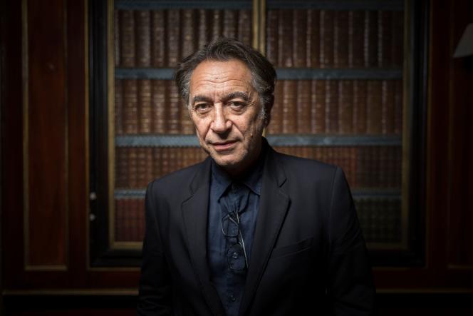 Comédien Richard Berry, 21 septembre 2017.