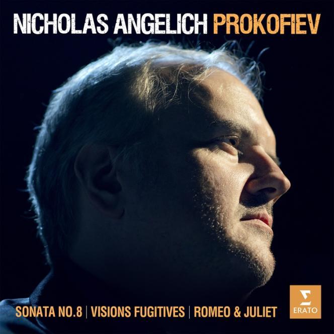 Pochette de l'album «Œuvres pour piano», de Serge Prokofiev par Nicholas Angelich.