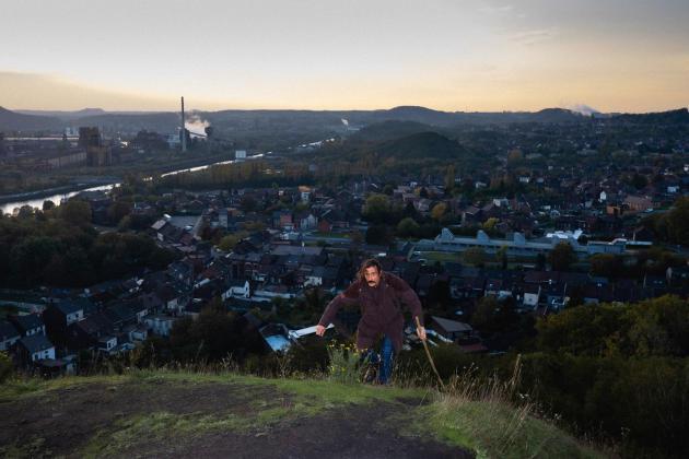 L'est de Charleroi et ses usines abandonnées.Nicolas Portnoï