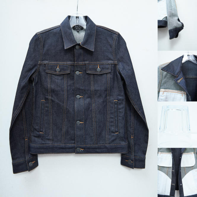 Blouson Brandy, en denim, A.P.C., 240 €.