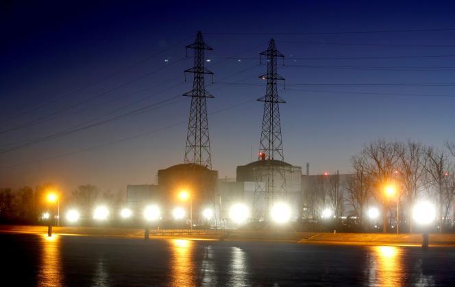 La centrale nucléaire de Fessenheim, dans l'est de la France, le 20 février 2020.