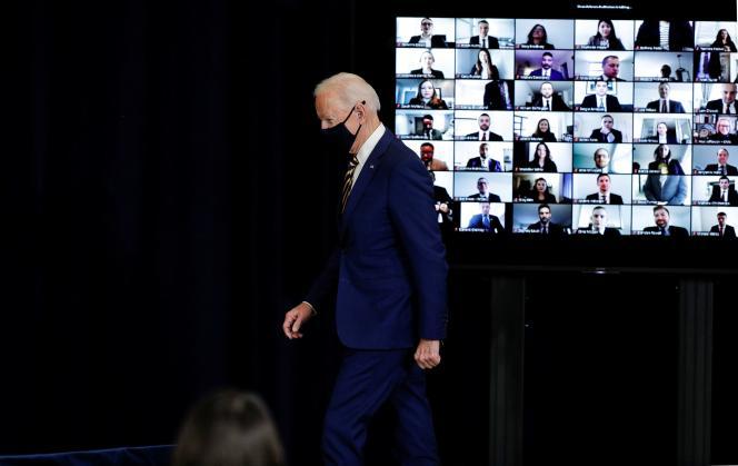 Joe Biden en Washington, 4 de febrero de 2021.