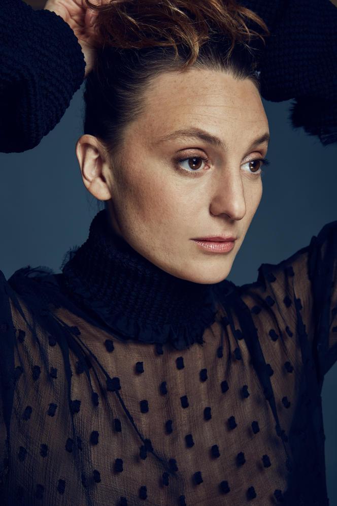 La chanteuse Raphaële Lannadère, alias«L », en 2017.