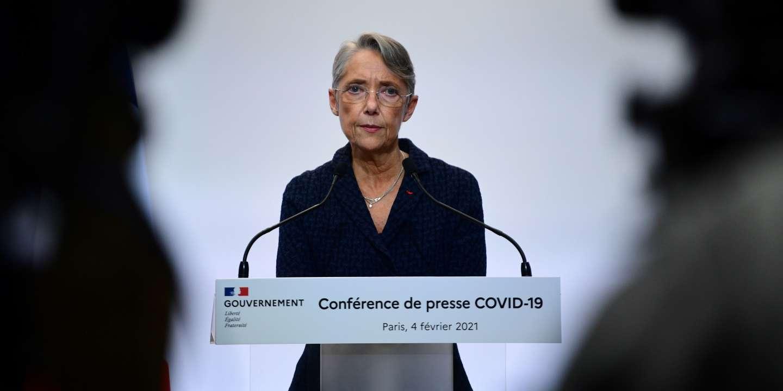 Le montant de l'indemnisation du chômage partiel reste inchangé jusqu'à fin mars, annonce Borne - Le Monde