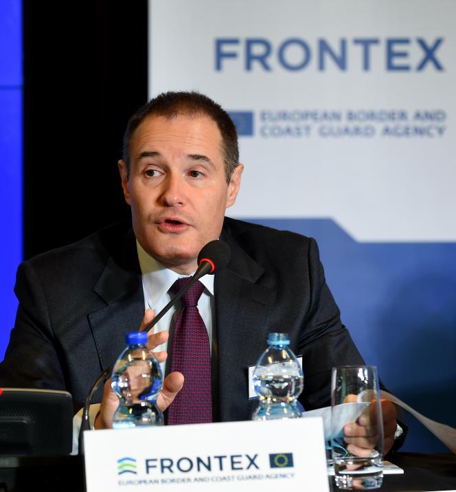 Fabrice Leggeri, directeur de l'agence Frontex, à Varsovie, le 8 novembre 2016.