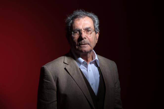 L'écrivain Gilbert Naccache à Tunis, le 9 mai 2013.