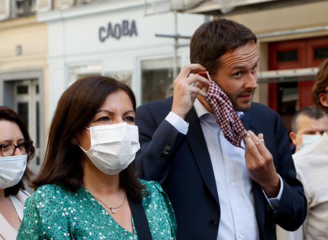 """David Belliard calls for an """"ecological primary"""" integrating Anne Hidalgo"""