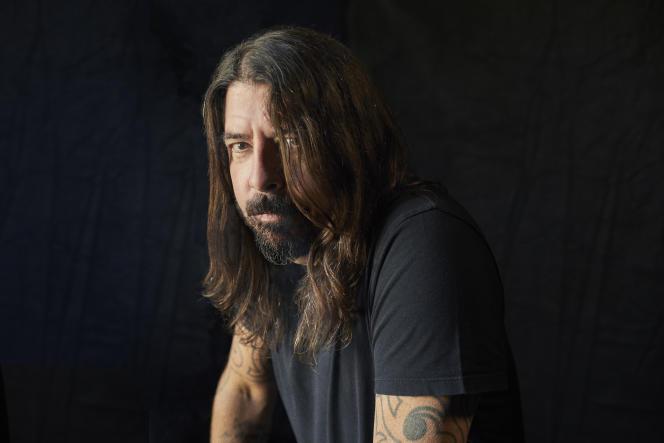 Le leader du groupe Foo Fighters, Dave Grohl, en 2020.
