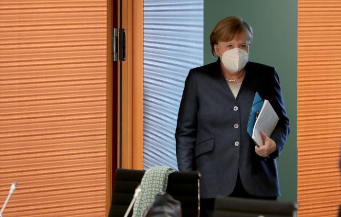 Am 3. Februar traf sich Bundeskanzlerin Angela Merkel in Berlin.