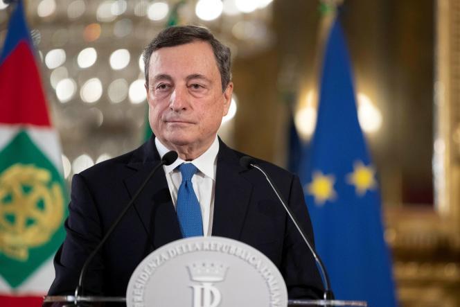 Mario Draghi, le 3 février 2020, à Rome.