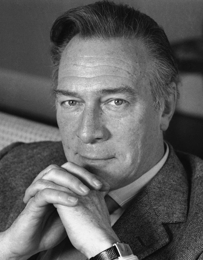 Christopher Plummer, en mai 1988.