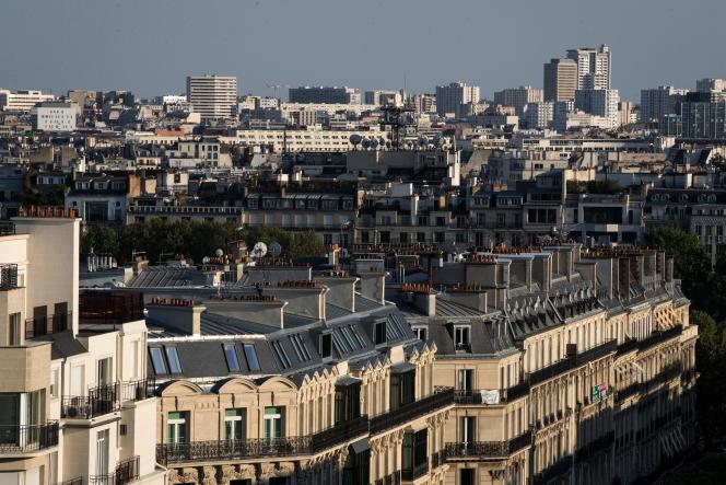 A Paris, le 23 avril 2020, pendant le premier confinement lié à la pandémie de Covid-19.