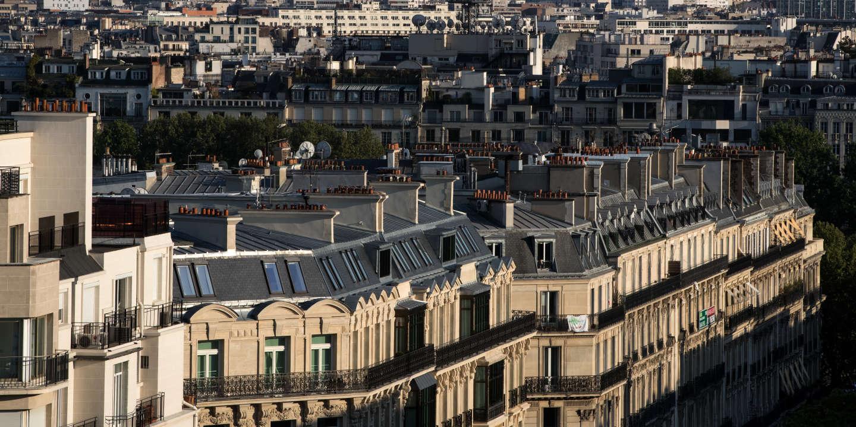 A Paris, les prix de l'immobilier fléchissent