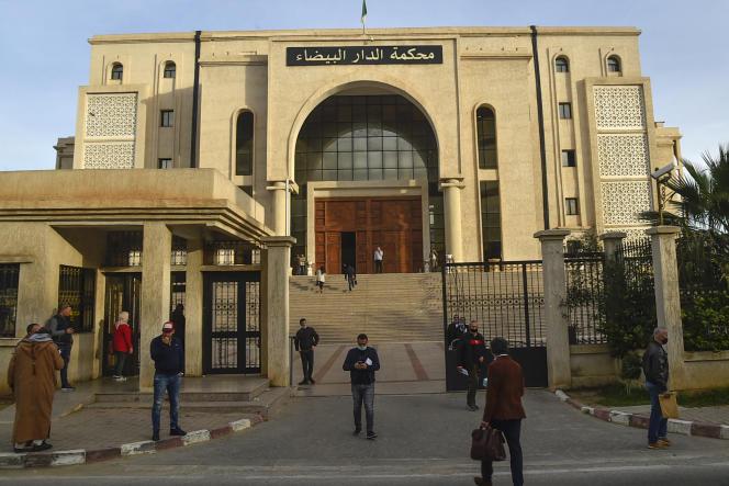 Gericht von Casablanca, Algier, 4. Februar 2021.