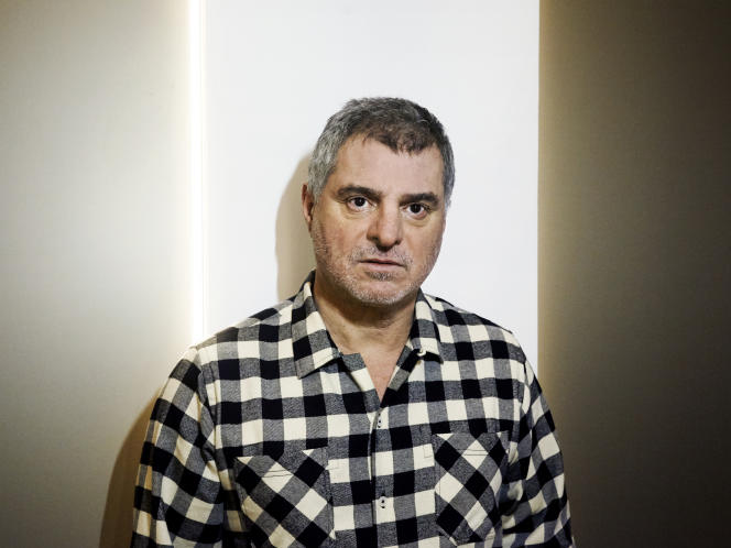 Pierre Salvadori à Paris, le 26 janvier.