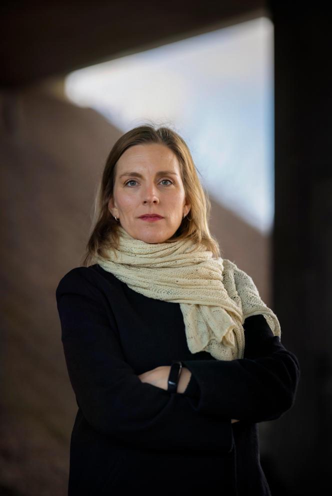 Anna Ardin, le 19 janvier à Stockholm.