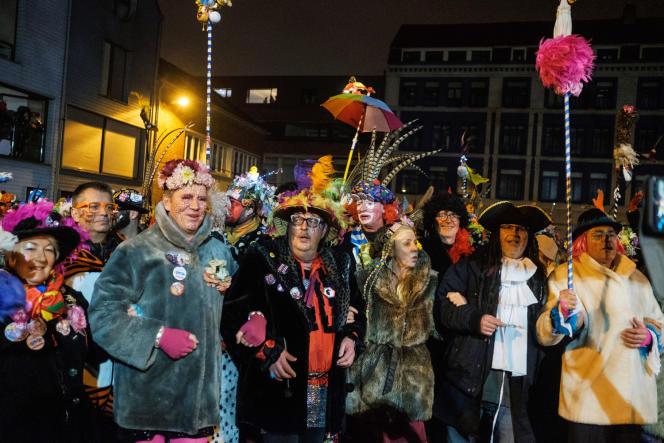 Cette année, pas de lancer de harengs ni de carnavaliers déambulant dans la rue (ici, à Dunkerque, en février 2020).