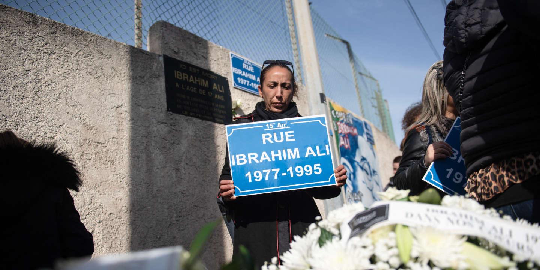A Marseille, l'avenue où Ibrahim Ali est mort tué par des colleurs d'affiches du FN en1995 portera son nom