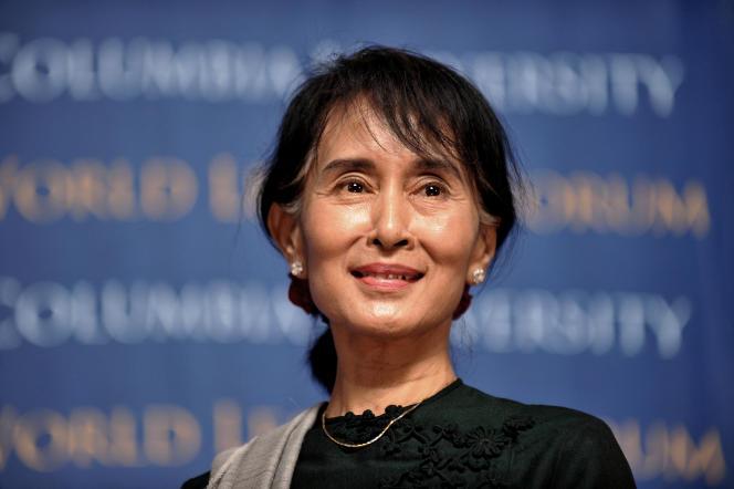 Aung San Suu Kyin, le 22 septembre 2012, à New York.