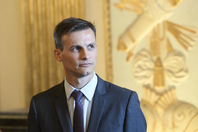 Frédéric Potier, délégué à la lutte contre le racisme, l'antisémitisme et la haine LGBT, àParis, en octobre 2018.