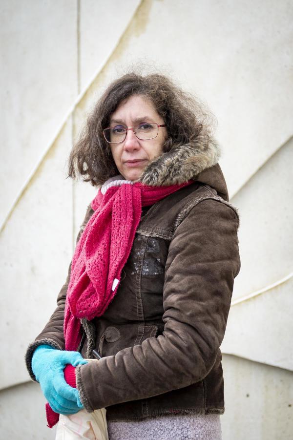 Ana, responsable CGTà Blois (Loir-et-Cher), le 10 février.