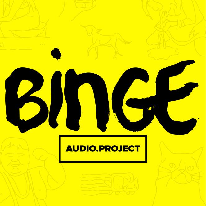 Logo de la plate-forme de podcast Binge.Audio.Project.