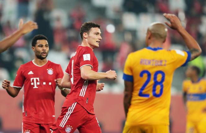 Le défenseur français Benjamin Pavard a offert la victoire au Bayern Munich face aux Tigres de Monterrey, jeudi 11février, au Qatar.