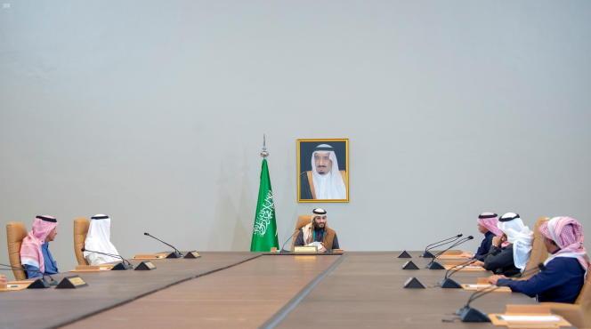 Le prince Mohammed Ben Salman, à Riyad, le 24 janvier.