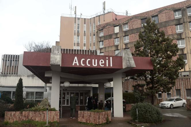 L'accueil du centre hospitalier de Dax (Landes), le 10 février.
