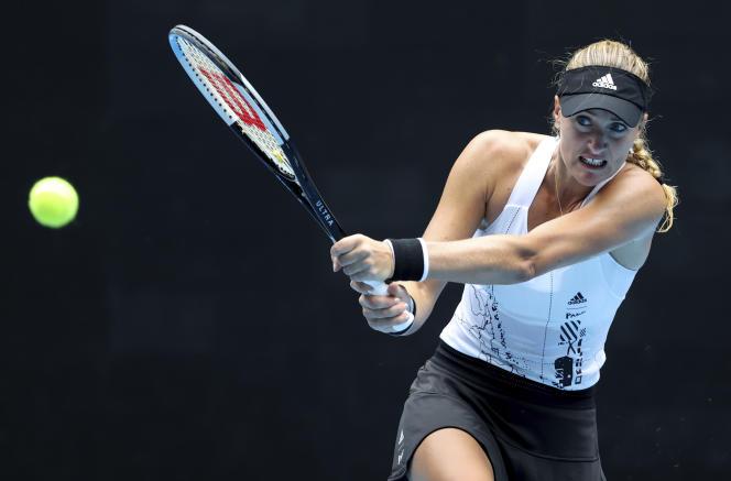 Kristina Mladenovic a perdu face à Jessica Pegula à Melbourne, en Australie, samedi 13février.