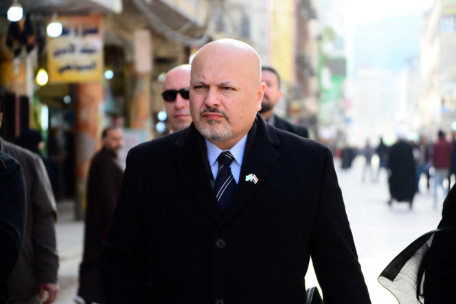 Karim Khan in Najaf, central Iraq in January 2019.