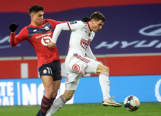 Brest est seulement la deuxième équipe, toutes compétitions confondues, à ne pas encaisser de but face au LOSC dans les douze derniers mois.