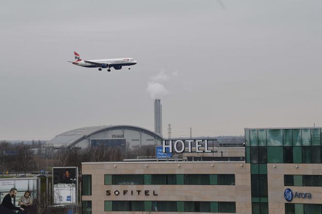 L'hôtel Sofitel de l'aéroport de Heathrow, dans l'ouest de Londres, le 14 février.