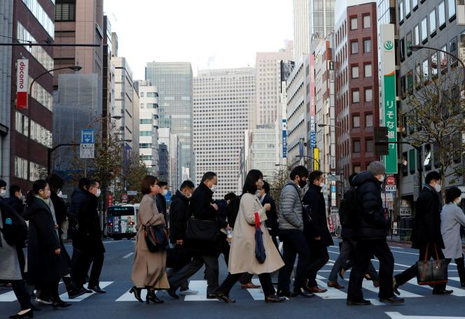A Tokyo, au Japon, le 7janvier.