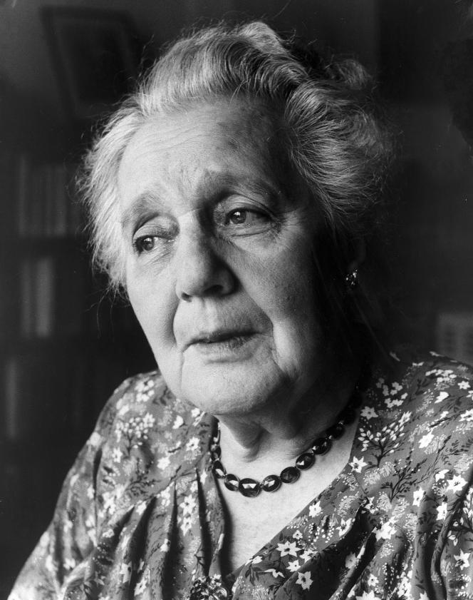 La psychanalyste Melanie Klein, dans les années 1950.