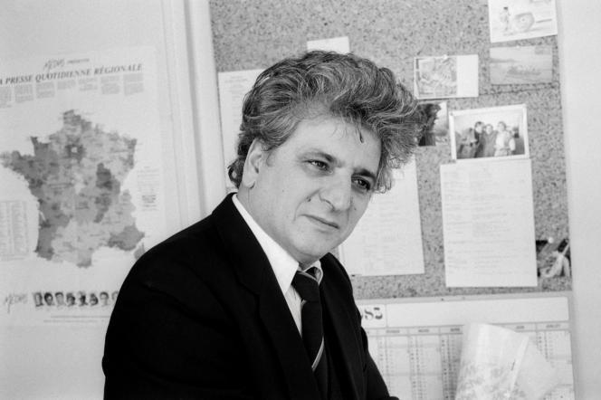 René-Victor Pilhes, le 21 juin 1993.