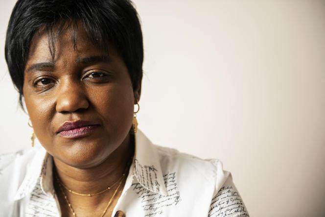 L'avocate Debora Kayembe, chez elle à Bonnyrigg, en Ecosse, le 11février 2021.