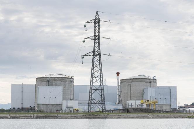 La centrale nucléaire de Fessenheim (Haut-Rhin), le 26 juin 2020.