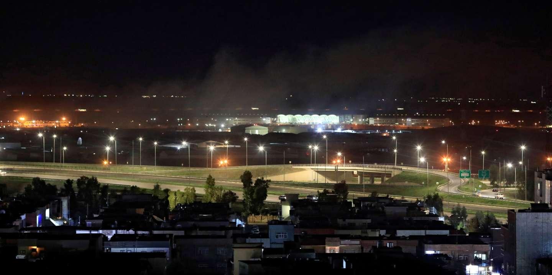 Des roquettes frappent une base aérienne abritant des soldats américains dans le Kurdistan irakien - Le Monde