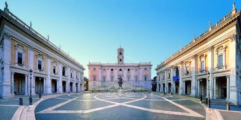 Musées du Capitole: cour des musées