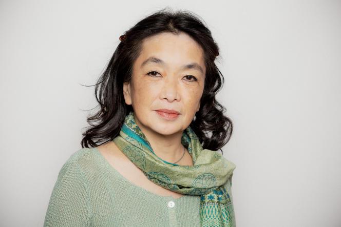 La sinologue Anne Cheng, à Paris, en 2018.