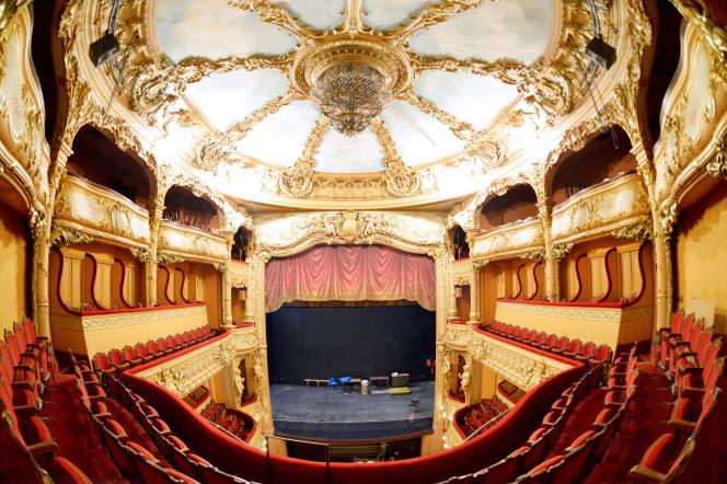 Teatro Athénée-Louis Jouvet, uno dei più bei teatri italiani di Parigi.