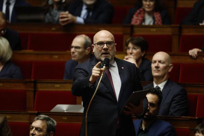 Le député Bruno Bonnell à l'Assemblée nationale, le 4 février.
