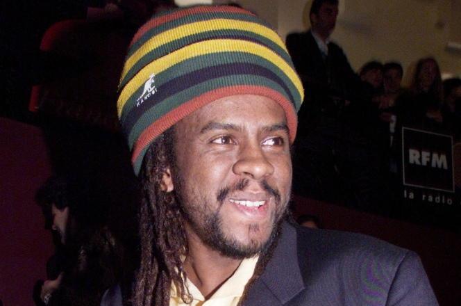 Tonton David, le 20 février 1999 à l'Olympia, à Paris.
