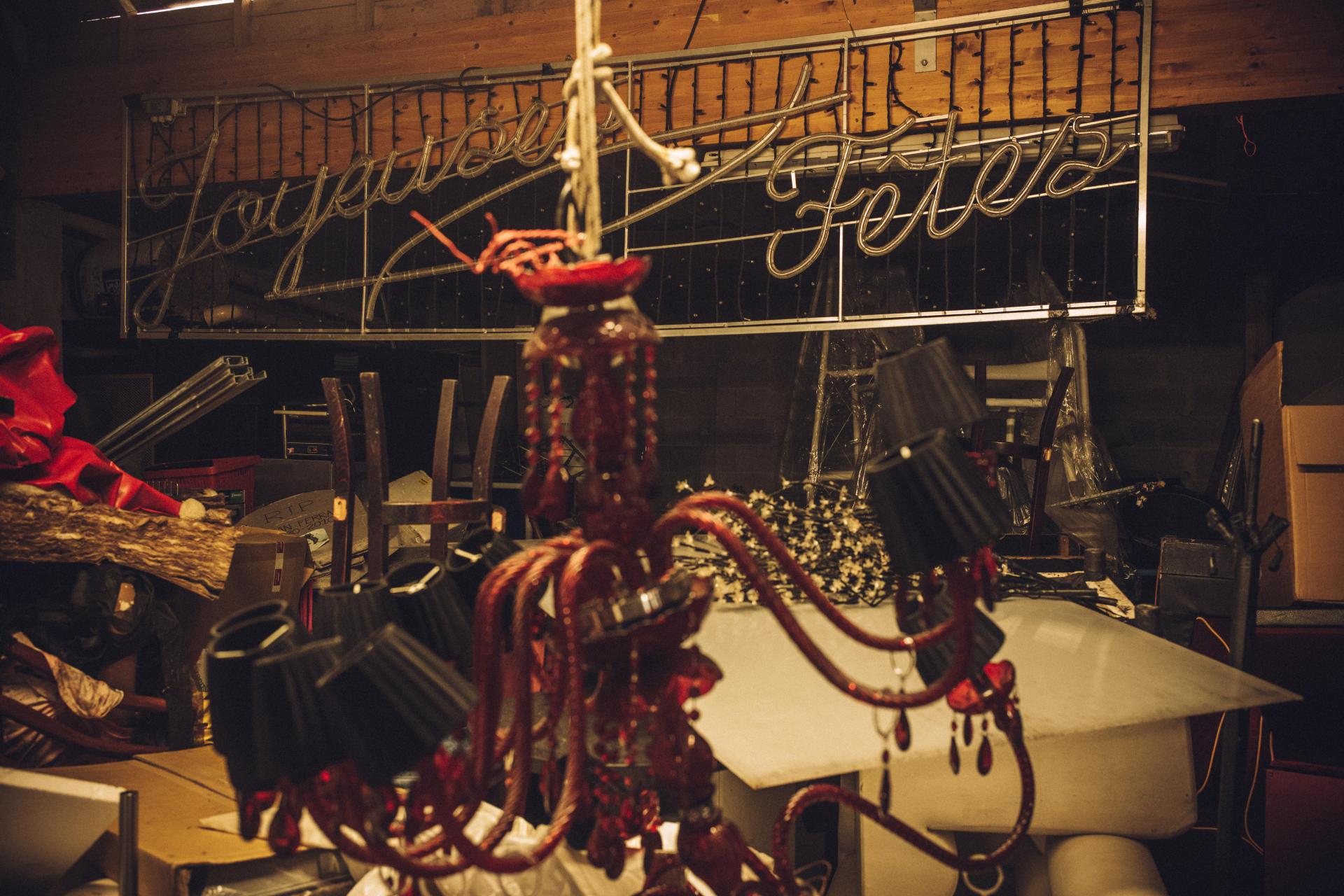 Dans la boîte de nuit LeMajestic, fermée, à Quimper, le 5février.