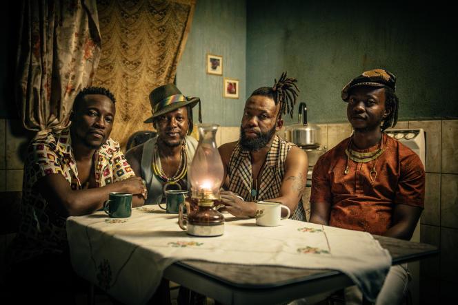 Le groupe Urban Village, originaire de Soweto, en 2020.